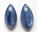 Blue Kyanite 10x20mm Top Drilled Kyanite Earring Beads Pair