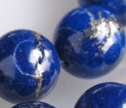 A++ Lapis 14mm Smooth Round Beads