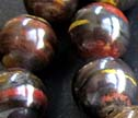 Tiger Iron 10mm Smooth Round Beads
