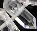 "Double Terminated  Crystal ""Herkimer Diamond""  Large Focal Beads"