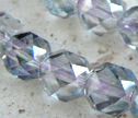 Rainbow Mystic Crystal Designer Faceted 7mm Round Beads