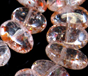 Translucent Sunstone Side Drilled Oval Beads