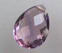 AA Amethyst Calibrated 12x15mm Briolette Beads 1pc