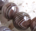 A++ Botswana Agate 10mm Smooth Round Beads